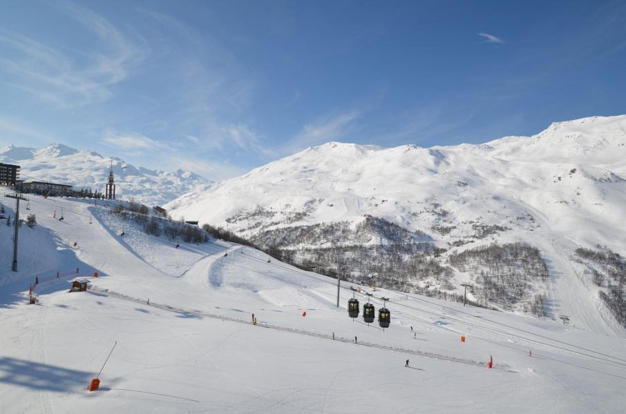 Vacances en montagne Studio 3 personnes (910) - La Résidence Caron - Les Menuires