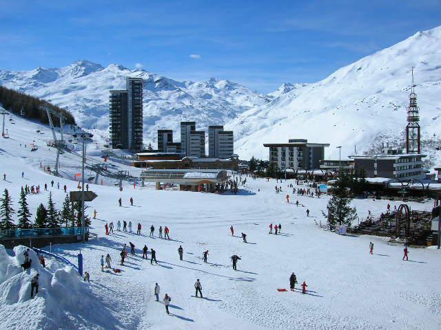 Vacances en montagne Studio 4 personnes (419) - La Résidence Chavière - Les Menuires