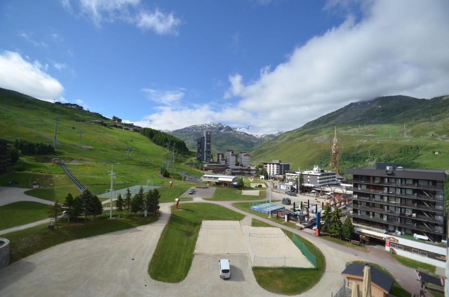 Vacances en montagne Studio coin montagne 5 personnes (714) - La Résidence Chavière - Les Menuires - Extérieur été