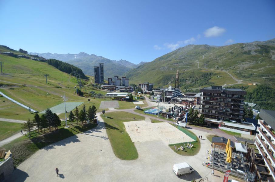 Vacances en montagne Studio 4 personnes (819) - La Résidence Chavière - Les Menuires - Extérieur été
