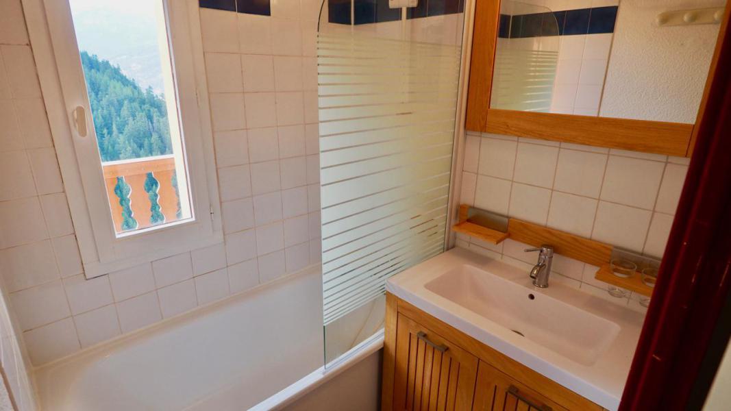 Vacaciones en montaña Apartamento 2 piezas para 4 personas (22) - La Résidence Chavière - Valfréjus - Bañera