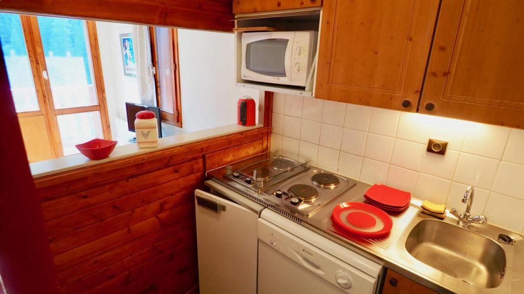 Vacaciones en montaña Apartamento 2 piezas para 4 personas (22) - La Résidence Chavière - Valfréjus - Kitchenette
