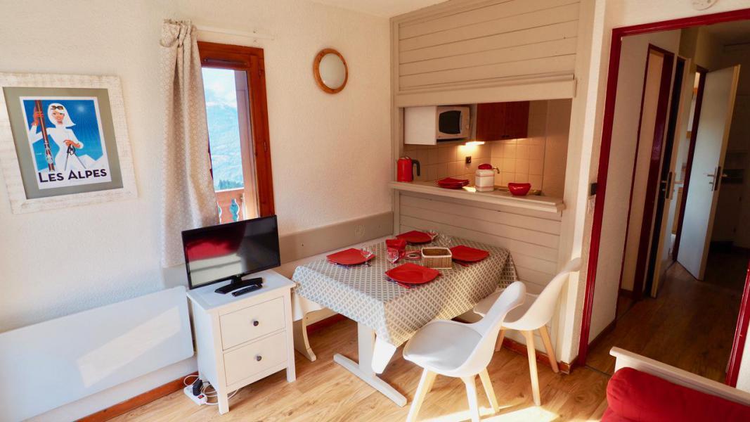 Vacaciones en montaña Apartamento 2 piezas para 4 personas (22) - La Résidence Chavière - Valfréjus - Mesa