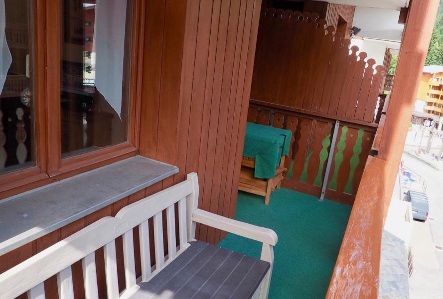 Vacaciones en montaña Apartamento cabina para 4 personas (43) - La Résidence Chavière - Valfréjus - Balcón