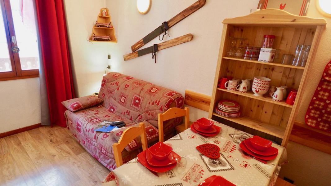 Vacaciones en montaña Apartamento cabina para 4 personas (43) - La Résidence Chavière - Valfréjus - Mesa