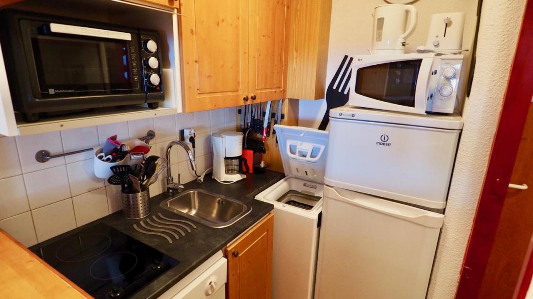 Vacances en montagne Studio cabine 4 personnes (43) - La Résidence Chavière - Valfréjus - Cuisine