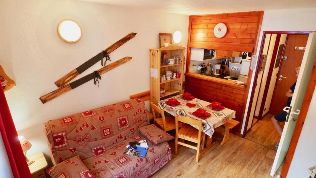 Vacances en montagne Studio cabine 4 personnes (43) - La Résidence Chavière - Valfréjus - Séjour