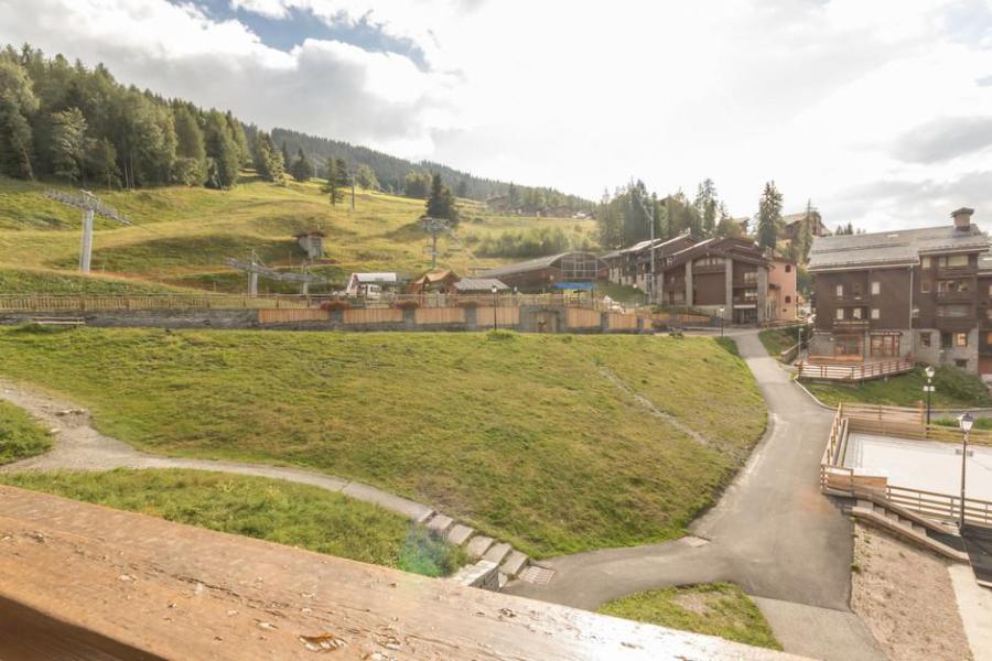 Holiday in mountain resort Studio 4 people (PEN23) - La Résidence des Pentes - Montchavin La Plagne - Summer outside