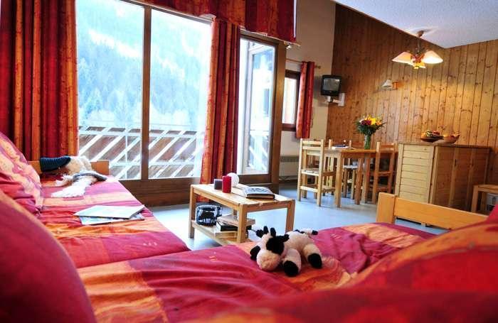 Vacances en montagne La Résidence du Téléphérique - Morzine - Coin séjour