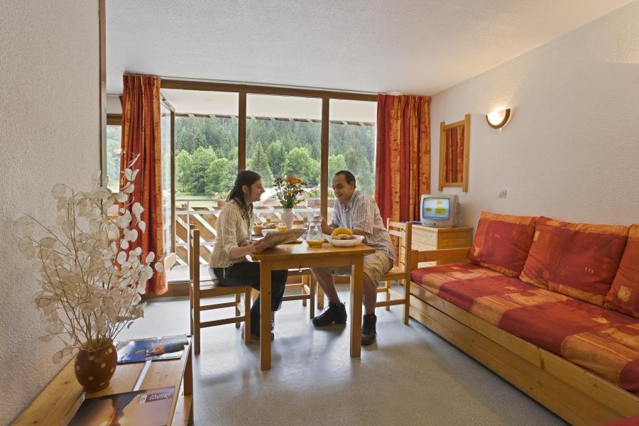 Urlaub in den Bergen La Résidence du Téléphérique - Morzine - Esszimmer