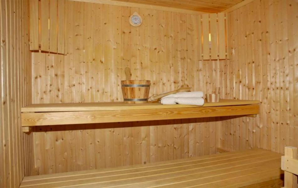 Vacances en montagne La Résidence du Téléphérique - Morzine - Sauna