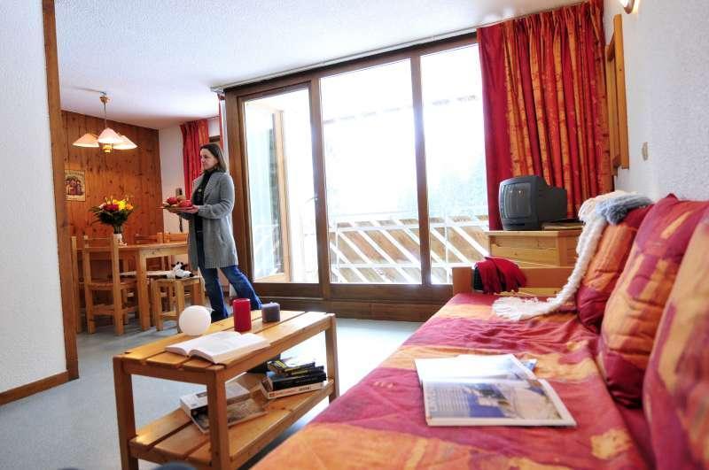 Vacances en montagne La Résidence du Téléphérique - Morzine - Séjour