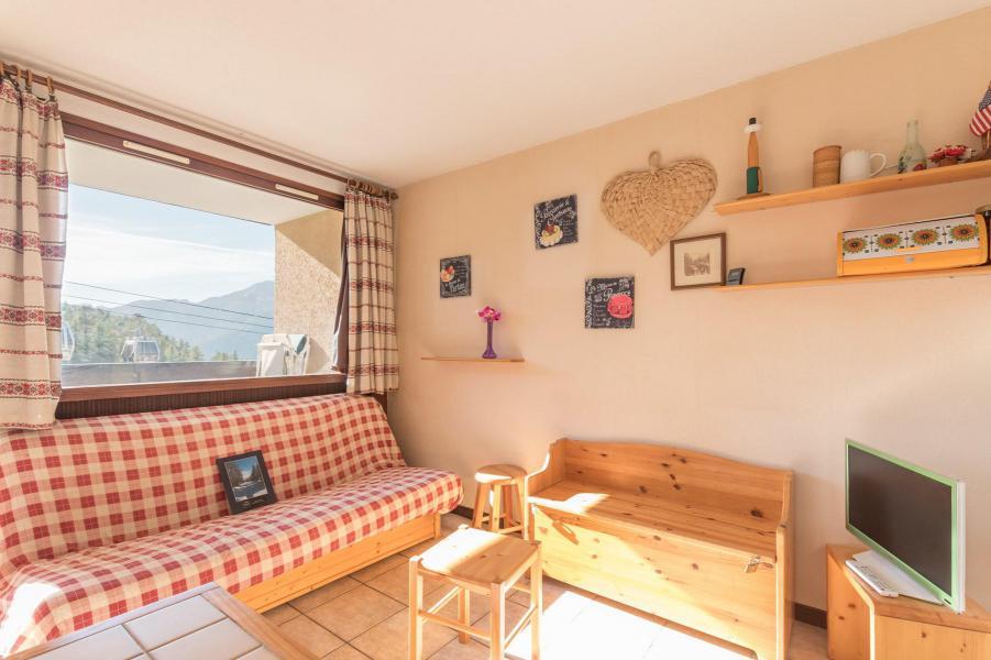Holiday in mountain resort 2 room apartment sleeping corner 6 people (VES104) - La Résidence Ferme d'Augustin - Montgenèvre