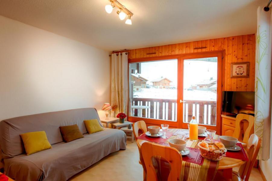 Wakacje w górach Studio kabina 6 osób (004) - La Résidence Florimontagne - Le Grand Bornand - Pokój gościnny