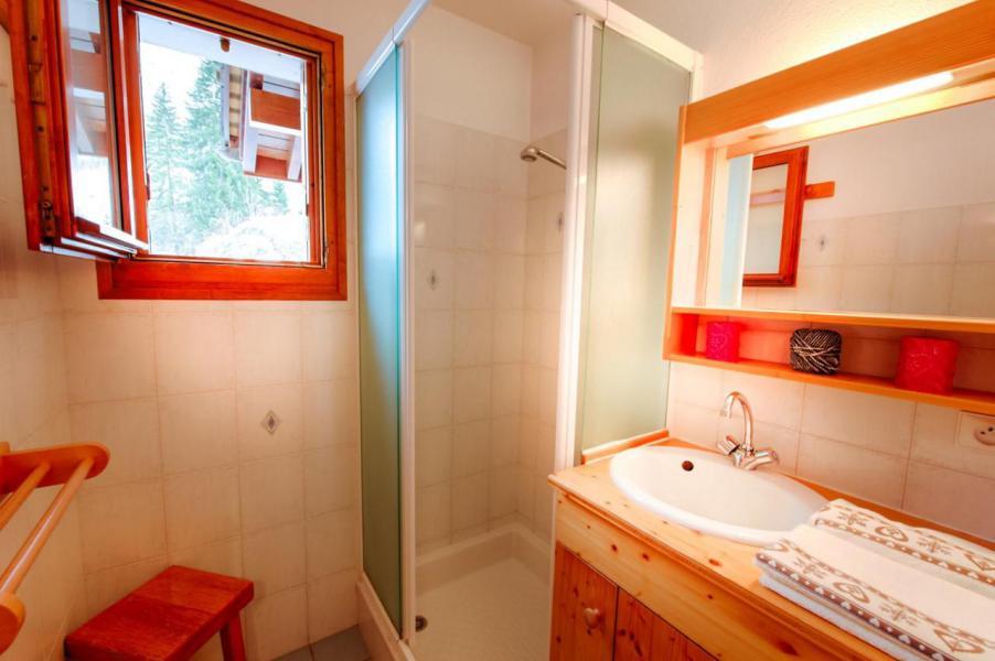 Wakacje w górach Studio kabina 6 osób (004) - La Résidence Florimontagne - Le Grand Bornand - Prysznicem