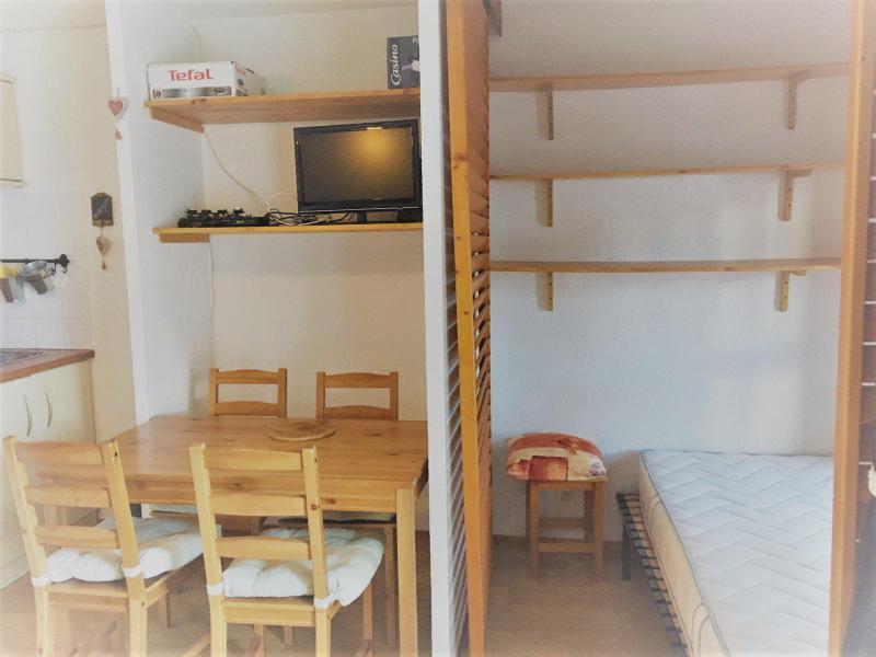 Каникулы в горах Апартаменты 2 комнат 4 чел. (417) - La Résidence Fond Blanc - Les Arcs - Стол