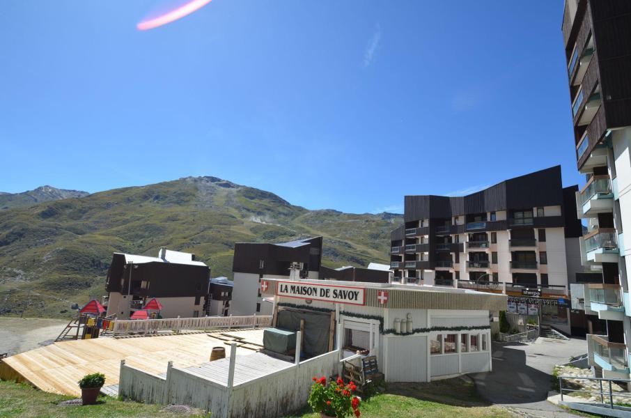 Holiday in mountain resort La Résidence Génépi - Les Menuires - Plan