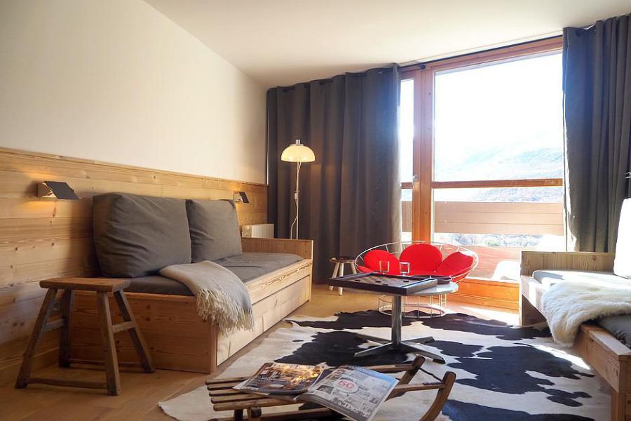 Holiday in mountain resort 4 room duplex apartment 8 people (806) - La Résidence Grande Masse - Les Menuires - Living room