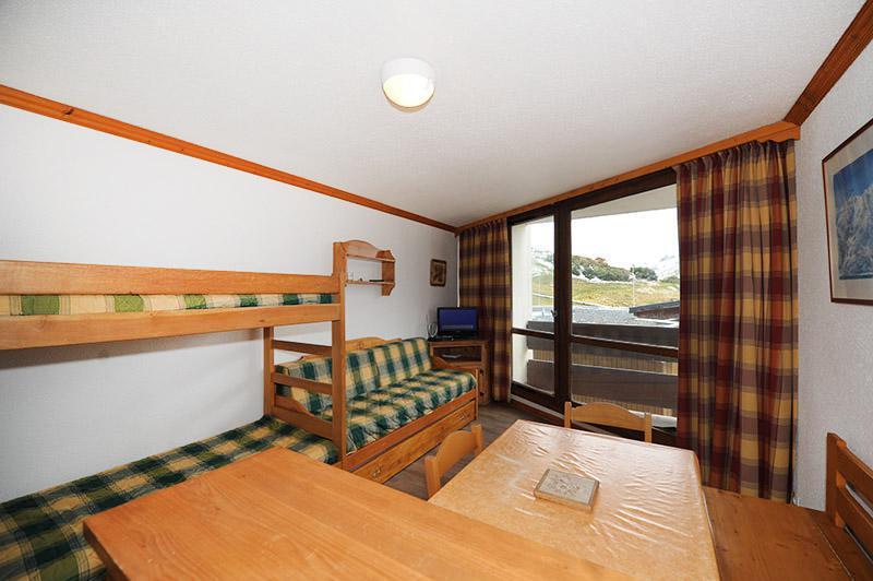 Holiday in mountain resort Studio 3 people (210) - La Résidence Grande Masse - Les Menuires - Living room