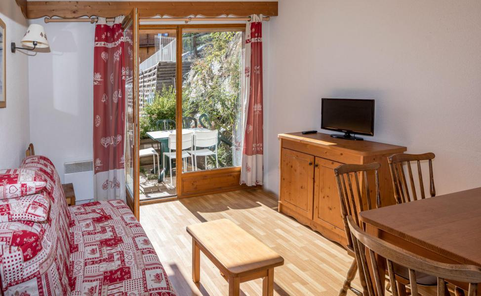Vacances en montagne Appartement 3 pièces 6 personnes - La Résidence Hameau des Ecrins - Puy-Saint-Vincent - Séjour