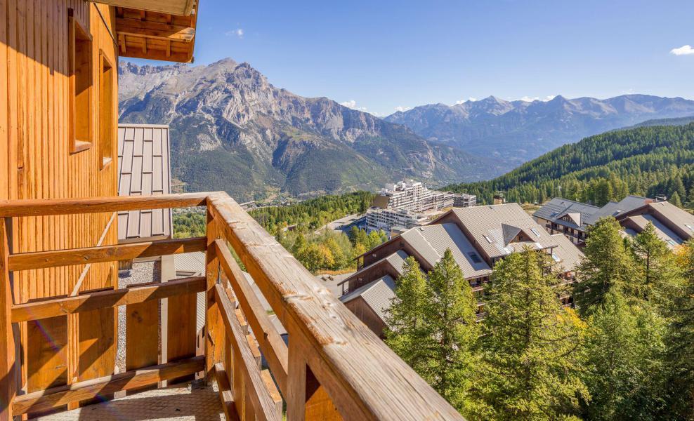 Vacaciones en montaña La Résidence Hameau des Ecrins - Puy-Saint-Vincent - Balcón