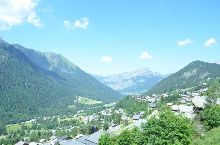Wakacje w górach Apartament 2 pokojowy 4 osób (8A) - La Résidence l'Alpage - Châtel - Na zewnątrz latem