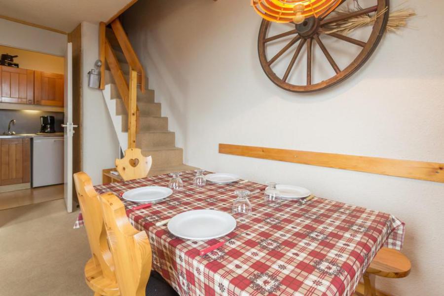 Vakantie in de bergen Appartement duplex 2 kamers 6 personen (21) - La Résidence l'Equerre - Montchavin La Plagne - Tafel