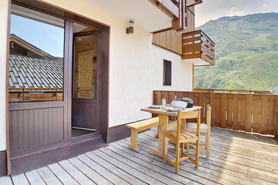 Wakacje w górach Apartament 2 pokojowy 4 osób (018) - La Résidence l'Orée des Pistes - Les Menuires - Na zewnątrz latem
