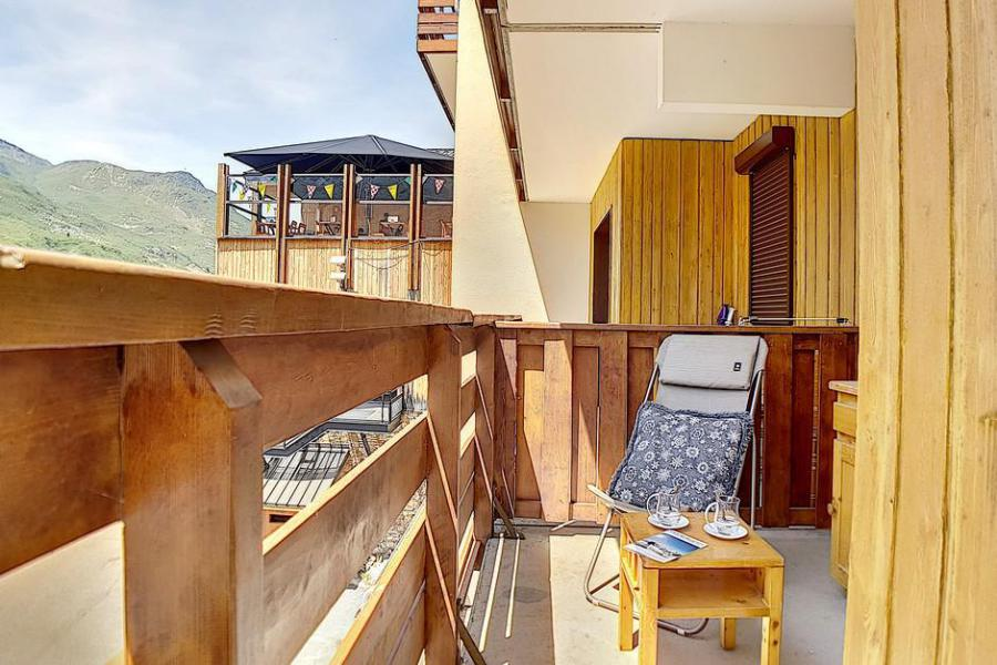 Wakacje w górach Apartament 2 pokojowy 4 osób (0207) - La Résidence l'Orée des Pistes - Les Menuires - Na zewnątrz latem