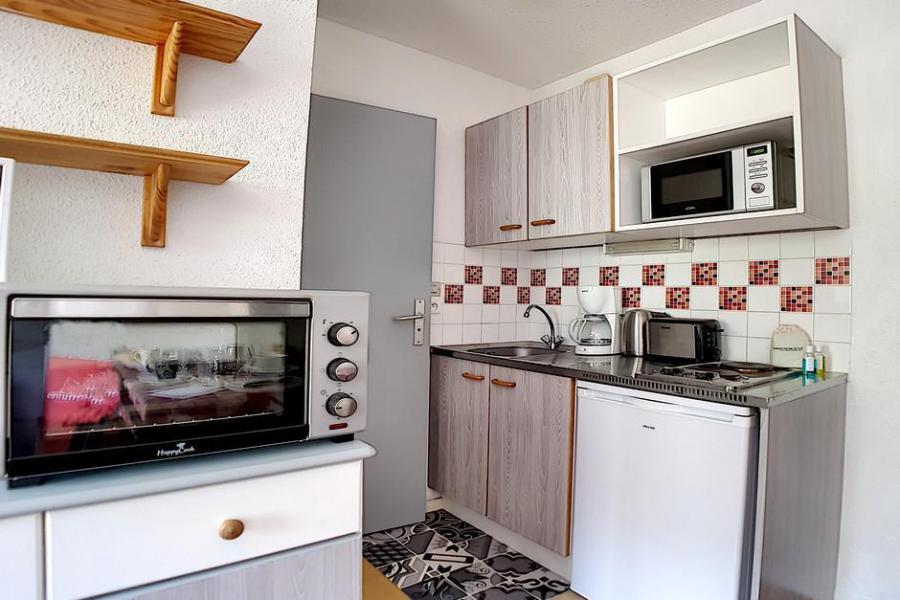 Wakacje w górach Apartament 2 pokojowy 4 osób (0207) - La Résidence l'Orée des Pistes - Les Menuires - Aneks kuchenny