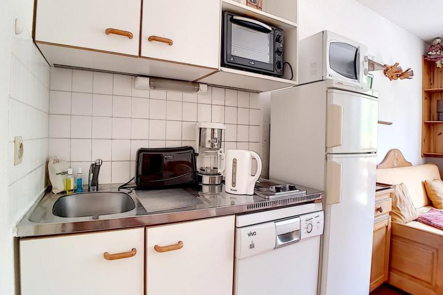 Wakacje w górach Apartament 2 pokojowy 5 osób (009) - La Résidence l'Orée des Pistes - Les Menuires - Aneks kuchenny