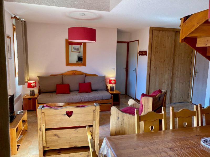 Каникулы в горах Апартаменты дуплекс 3 комнат 8 чел. (446) - La Résidence la Combe - Aussois - Салон