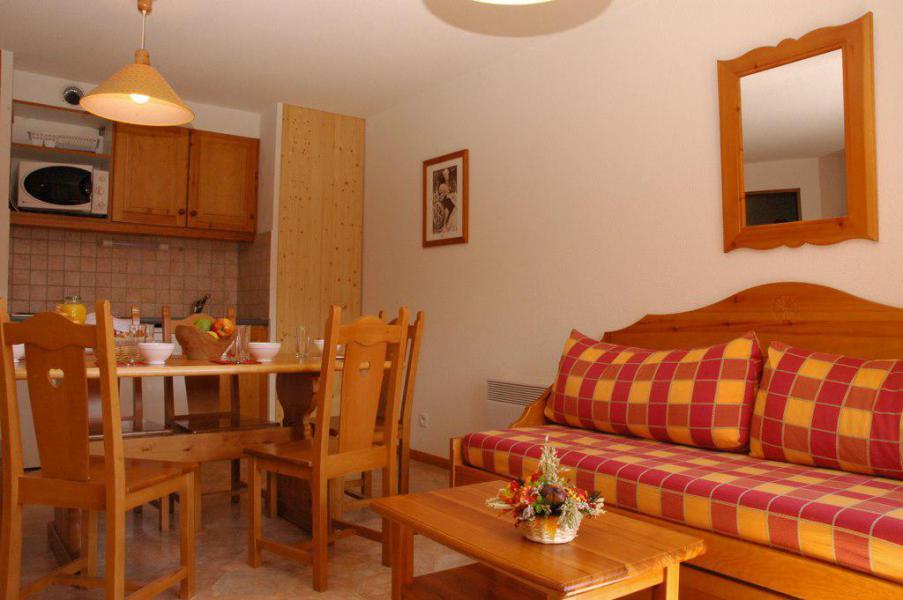 Wakacje w górach Apartament 2 pokojowy kabina 6 osób (435) - La Résidence la Combe - Aussois - Stołem