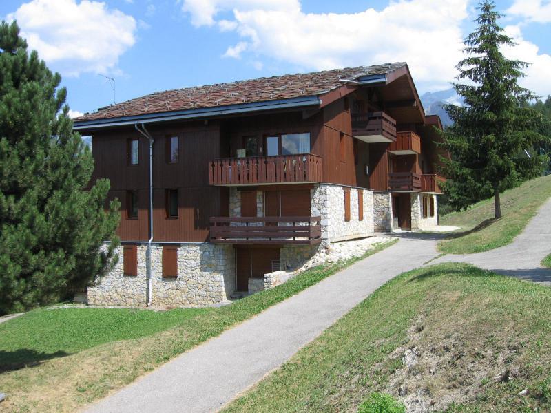 Location au ski Studio 4 personnes (016) - La Résidence la Lanterne - Montchavin La Plagne - Extérieur été