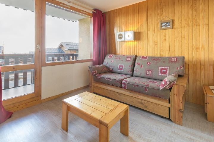 Holiday in mountain resort Divisible studio 4 people (28) - La Résidence la Traverse - Montchavin - La Plagne