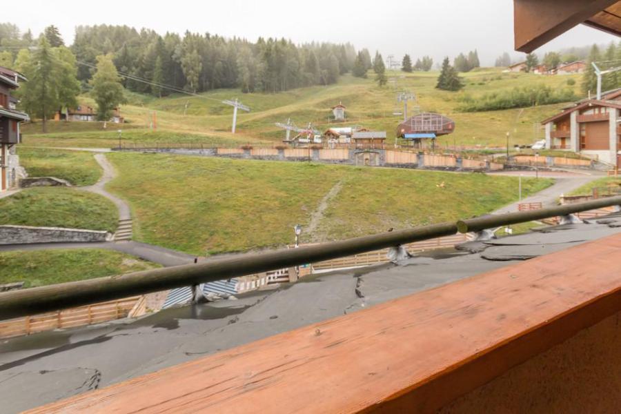 Holiday in mountain resort Studio mezzanine 5 people (67) - La Résidence la Traverse - Montchavin - La Plagne - Summer outside