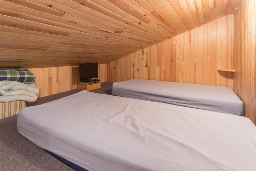 Holiday in mountain resort Studio mezzanine 5 people (67) - La Résidence la Traverse - Montchavin - La Plagne - Double bed