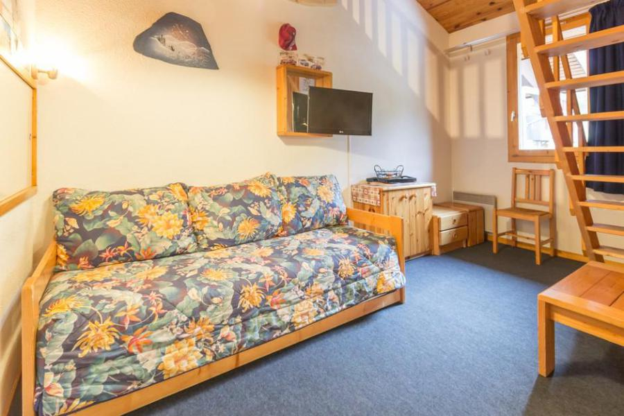Holiday in mountain resort Studio mezzanine 5 people (67) - La Résidence la Traverse - Montchavin La Plagne - Living room