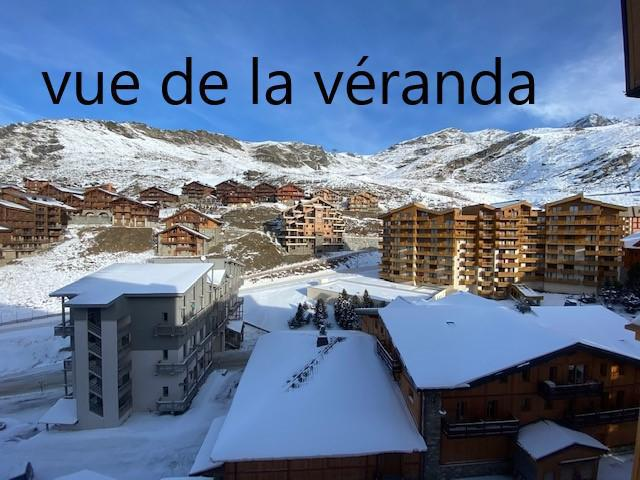 Holiday in mountain resort 2 room apartment cabin 4 people (666) - La Résidence la Vanoise - Val Thorens