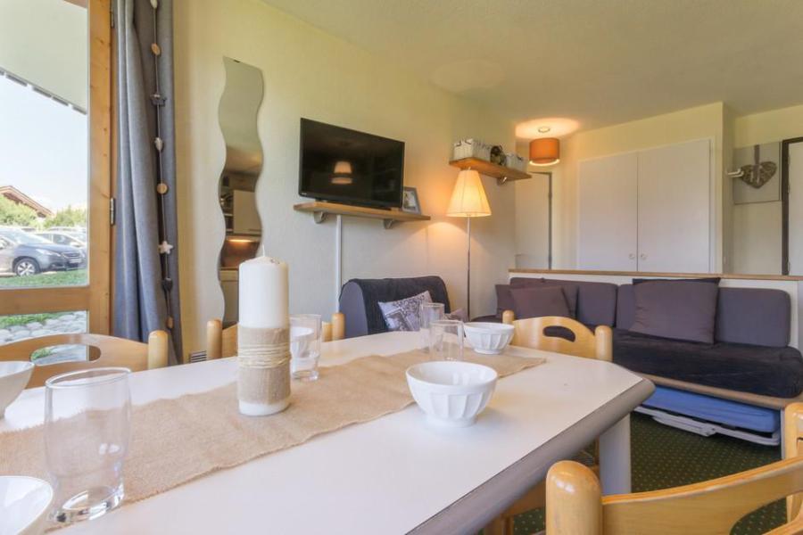 Holiday in mountain resort 2 room apartment cabin 6 people (004) - La Résidence le 3ème Dé - Montchavin - La Plagne - Table