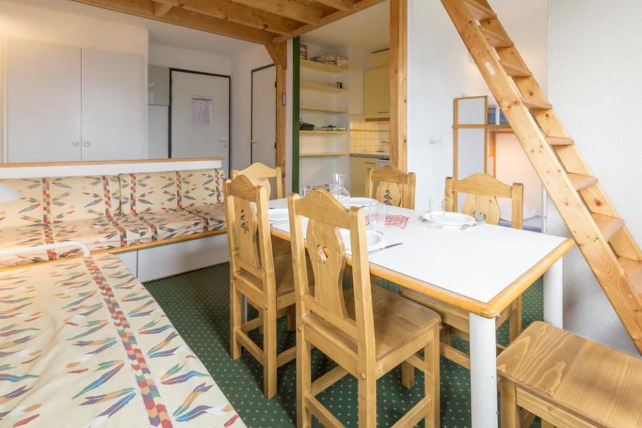 Holiday in mountain resort 3 room mezzanine apartment 6 people (404) - La Résidence le 3ème Dé - Montchavin - La Plagne - Dining area