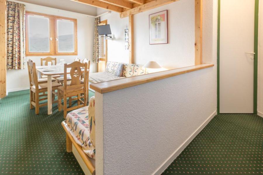 Holiday in mountain resort 3 room mezzanine apartment 6 people (404) - La Résidence le 3ème Dé - Montchavin - La Plagne - Living room