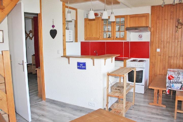 Holiday in mountain resort 3 room duplex apartment 8 people (BAI33) - La Résidence le Bastion I - Montchavin - La Plagne