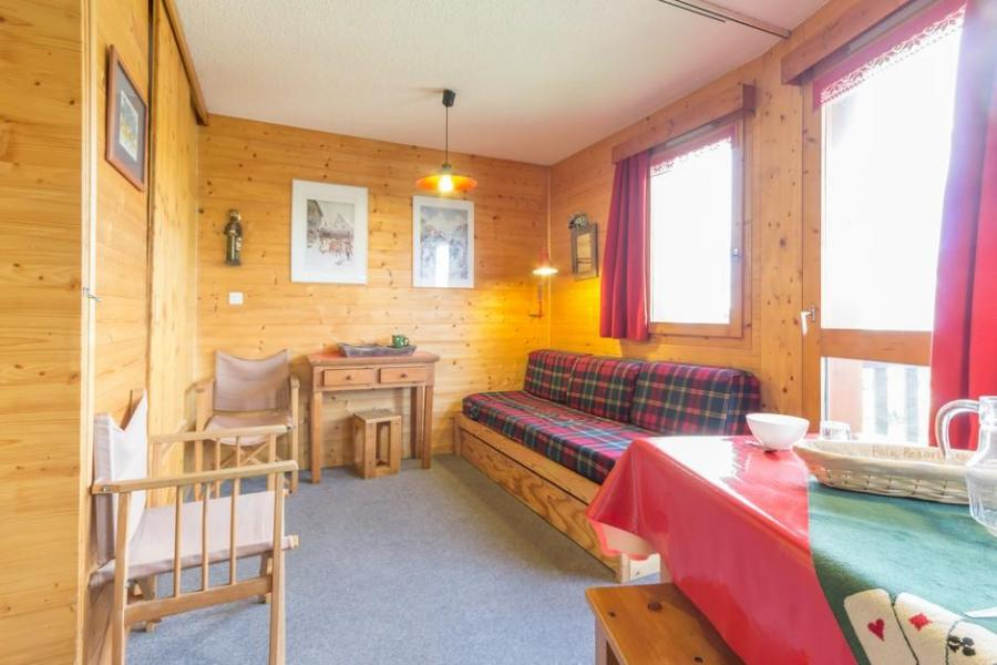 Holiday in mountain resort Studio 4 people (BAI8) - La Résidence le Bastion I - Montchavin - La Plagne - Living room