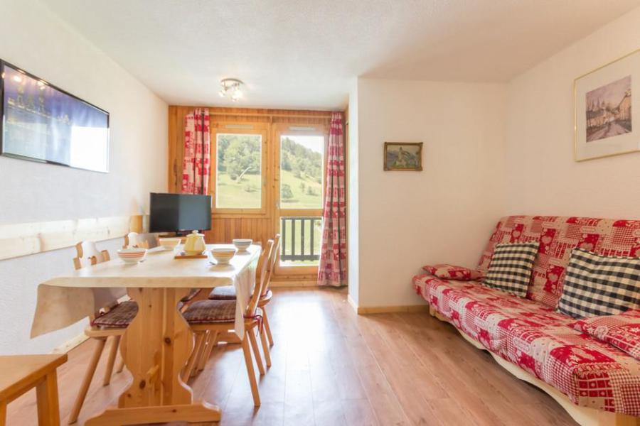 Holiday in mountain resort Studio cabin 4 people (BAI13) - La Résidence le Bastion I - Montchavin - La Plagne - Bed-settee