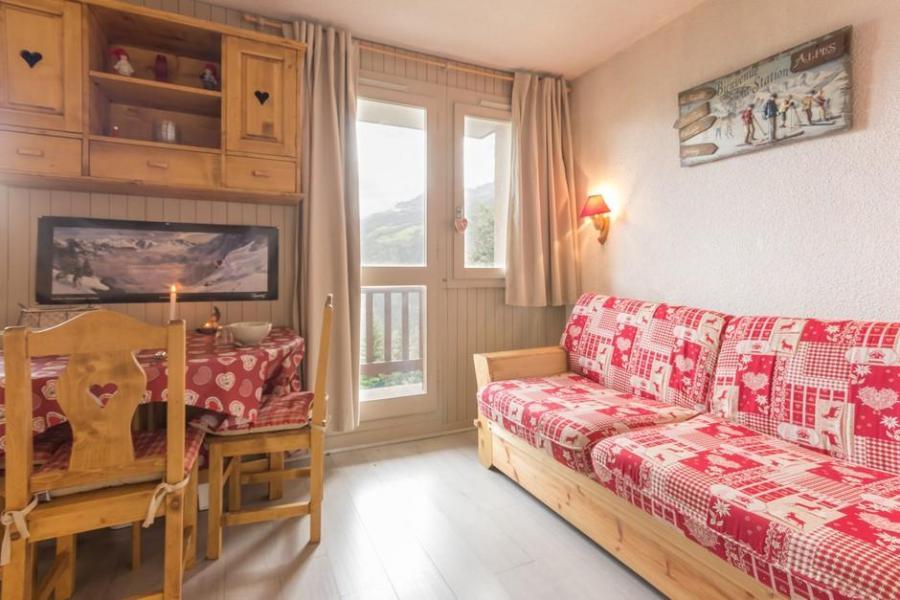 Holiday in mountain resort Studio cabin 4 people (BAI2) - La Résidence le Bastion I - Montchavin - La Plagne - Kitchen