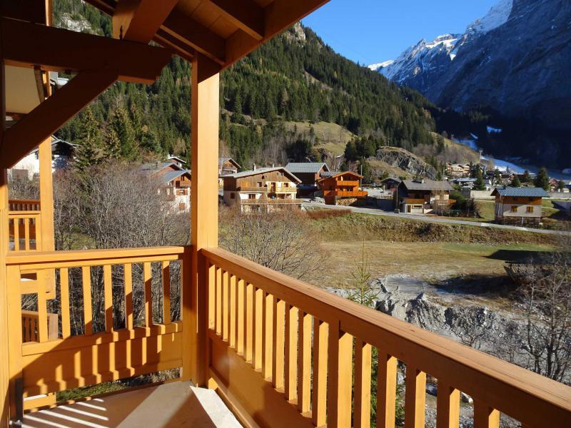 Wakacje w górach Apartament 2 pokojowy 4 osób (45) - La Résidence le Blanchot - Pralognan-la-Vanoise - Na zewnątrz latem