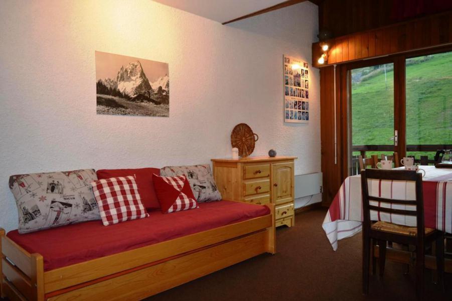 Wakacje w górach Studio z alkową 6 osób (56) - La Résidence le Castel des Neiges - Le Grand Bornand - Pokój gościnny