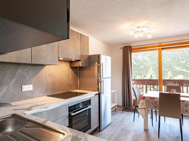 Wakacje w górach Apartament 2 pokojowy 5 osób (B2) - La Résidence le Christmas - Méribel - Aneks kuchenny