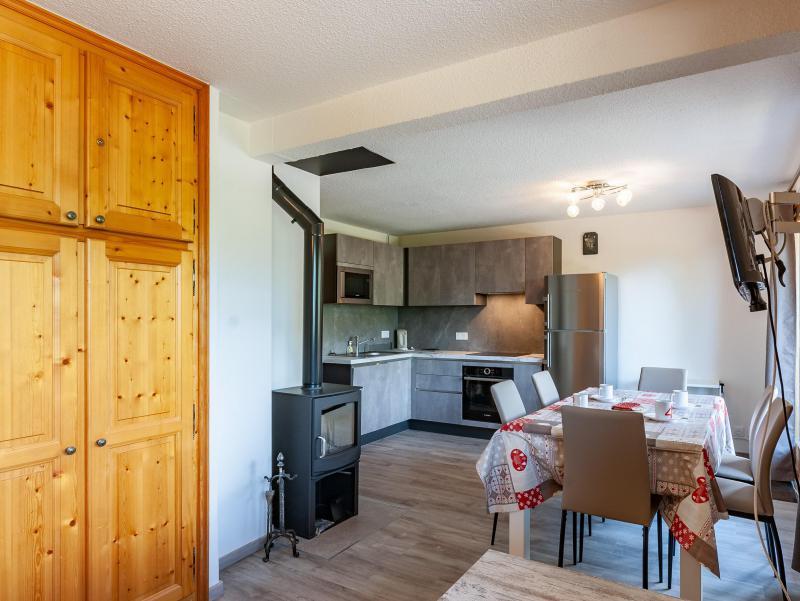 Wakacje w górach Apartament 2 pokojowy 5 osób (B2) - La Résidence le Christmas - Méribel - Pokój gościnny